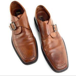 Men's Johnston & Murphy Brown Leather Dress Loafer